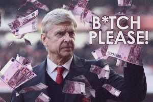 Arsene Wenger money