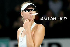 Maria Sharapova drug life